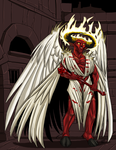 Asmodeus Colored by ProdigyDuck