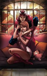 Mary Jane And Spiderman by kcspaghetti