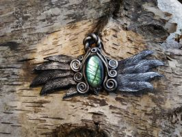 Archangel Michael Pendant by Anaid89