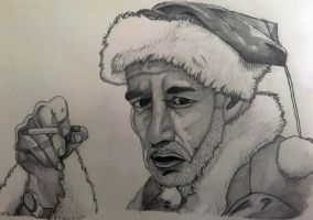 Bad Santa by Miltage