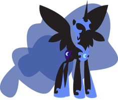 Nightmare Moon by AlicornOverlord