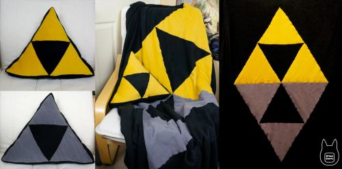 A Link Between Worlds Pillow and Blanket Set by studioofmm