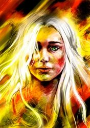 -Mother of Dragons- by Sara-lj