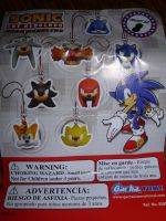 Sonic the hedgehog keyhangers by sira-the-hedgehog