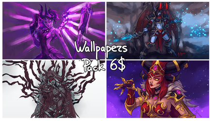Wallpapers Pack by ryumo