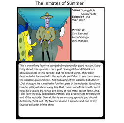 1001 Animations - The Inmates of Summer by ilovededede