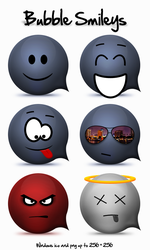 Bubble Smileys by miffo