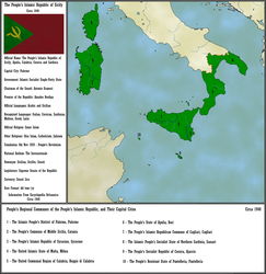 People's Islamic  Republic of Sicily [NWO] by Kakletron