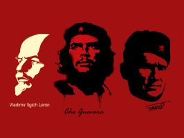 Leaders Of Communism by D3form3D