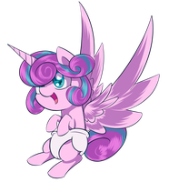Flurry-heart by ValeBreeze