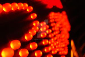 Glowing red by Isika