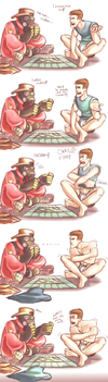 TF2: monopoly by DarkLitria