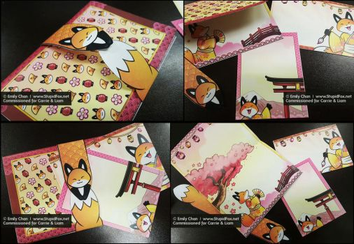 Foxy Wedding Invites by SilentReaper