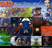 KNICKS ADVENTURE MEGA BOSS MIX by The-Knick
