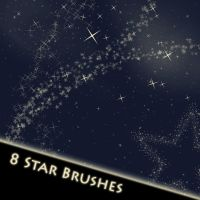 Star Brushes - Photoshop by Lexa-Wagner