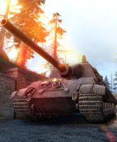 Sunny day with ... Jagdtiger. by LordofCombine