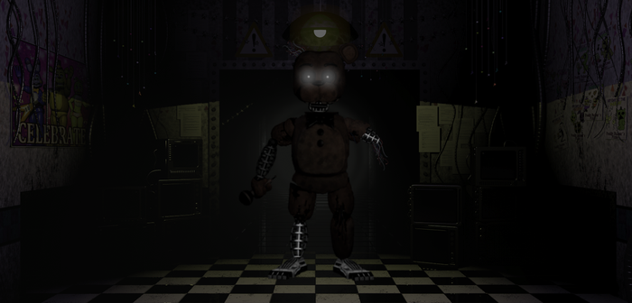 Decayed Withered Freddy by MrLazuli