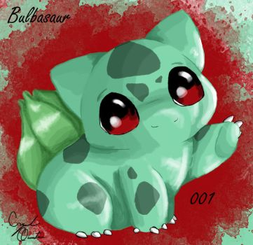 001-Bulbasaur by SexxiMomma