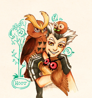 Owl Hoard by owopyre