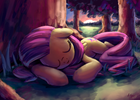 SleepyShy by INowISeeI