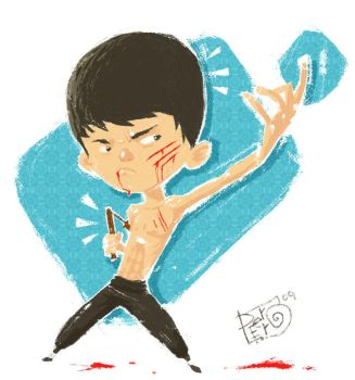 Bruce Lee by peerro