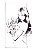 Witchblade commission 42 by Xenomrph