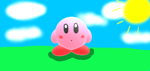 3D Kirby by RichardtheDarkBoy29