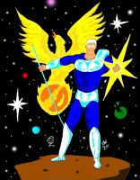Voyager, son of a Star Phoenix by GalaxyZento
