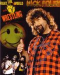 mick foley signed by TreborNehoc