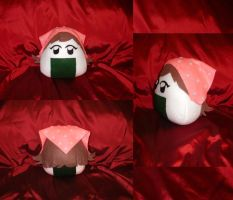 Cosplay Onigiri - Cooking Mama by merlinemrys