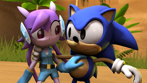 [SDM] Sonic And The New Girl by shadow759