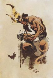 Hellboy By Edufrancisco by SpicerColor