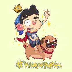 KING OF PUPPIES by yonson-cb