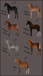 ~RSI Lineage Foal Sale~ CLOSED by CalyArt