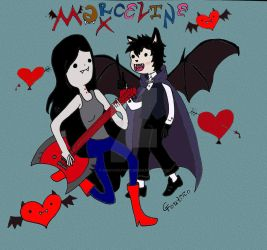 Marceline and Max by GabyCoutino