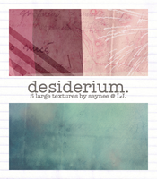 Desiderium: 5 Large Textures by Seynee