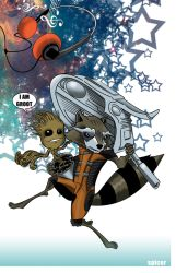 Rocket and Groot by spicemaster