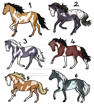 20 point horse adopts [0/6] -OPEN- by TheAdoptArtist
