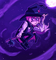 Witch teru by iLee-Font