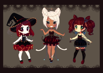 Halloween Annies [AUCTION] CLOSED by Yamio