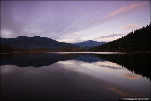 One Mile Lake by tommyauphoto