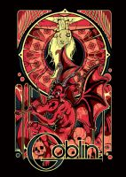 Gig Poster for Goblin by nosmallvictories