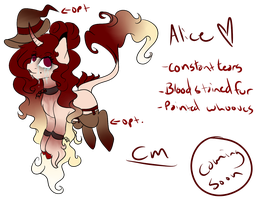 Alice Ref Vers. 1.0 by Oh-FrostyButtOwO
