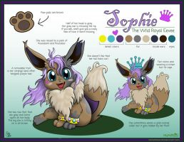 Sophie Reference Sheet by MeMiMouse