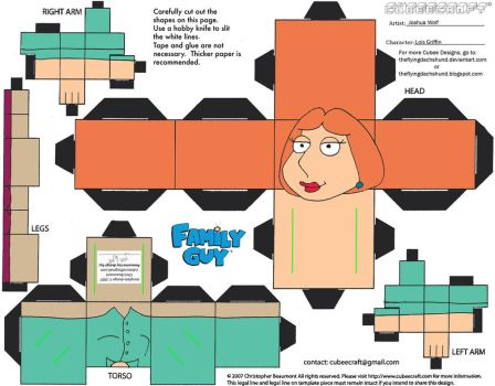 FG1: Lois Griffin Cubee by TheFlyingDachshund