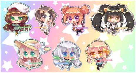 SP-Nova shiny chibis by neutrinoflavor