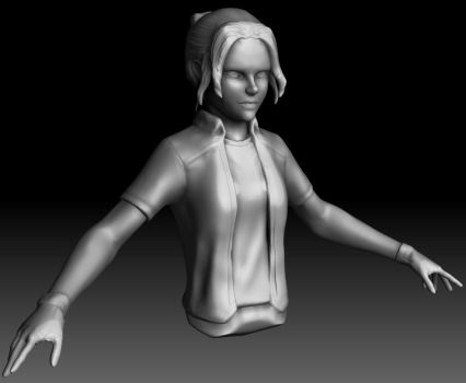 Character Test - WiP by alrey