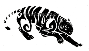 Chinese Zodiac: Tiger by jennsch