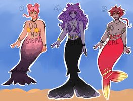 MERMAID ADOPTS OPEN (1 LEFT) [price reduced] by K3NMA