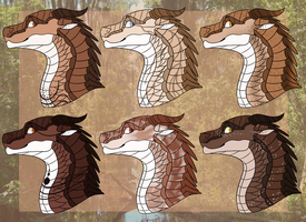 March MudWing Adopts - 6/6 OPEN by Striiking